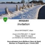 INVITATION AUX VOEUX DE WISQUES